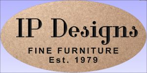"""IP Designs"" sign"