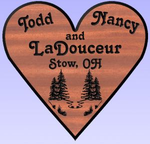 """LaDouceur"" Heart Sign"