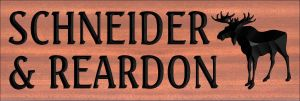 """SCHNEIDER & REARDON"" sign"