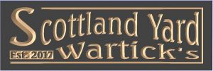 """Scottland Yard"" SIGN"