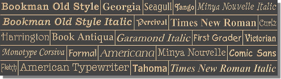 "Handcrafted Outdoor 36"" x 8"" Black Multiple Line Extira (exterior MDF) Sign"