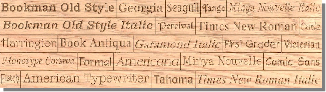 "Handcrafted Indoor 36"" x 8"" Oak Multiple Line Wood Sign"