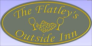 """The Flatley's"" sign"
